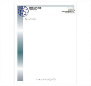 letterhead template free download free letterhead template download