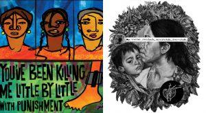 letters for immigration detention center art