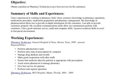 letters of application example pharmacy tech resume resume format download pdf