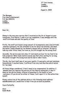letters of complaint samples bcbdfedbfe writing skills teaching writing