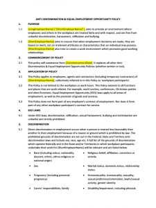 letters of complaints samples doc