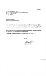 letters of recommendation examples g