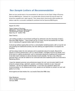 letters of recommendation for college reference letter for college acceptance