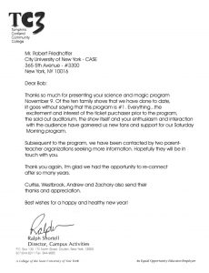 letters of recommendation for college tc letter