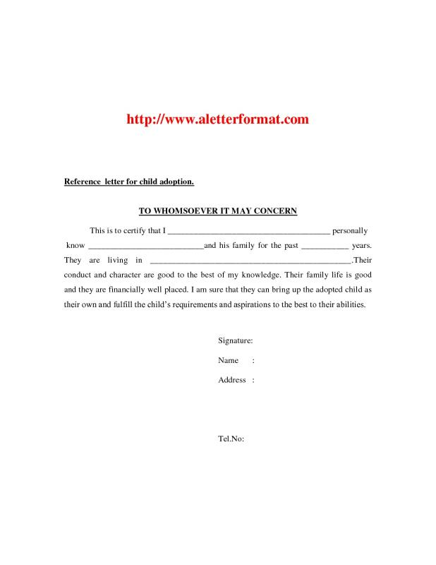 letters of recommendation for friends