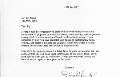 letters of recommendation for students d