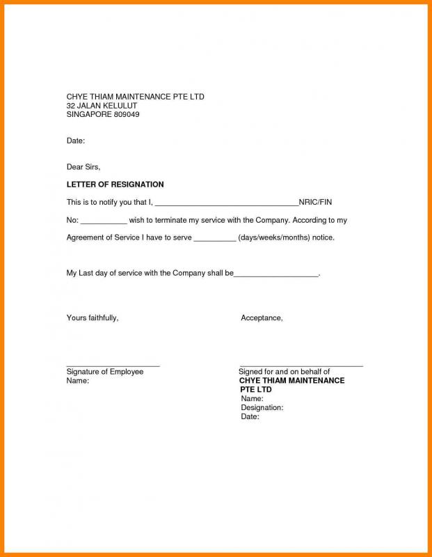 letters of recommendation format