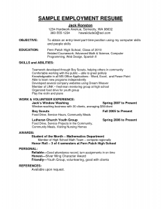letters of termination of employment employment resume middle school student resume sample nslgxm