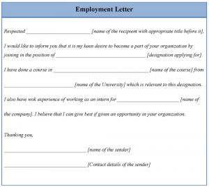 letters of termination of employment letter of employment template lnvcs