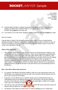 letters of termination of employment zero hours contract