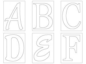 letters template free letter template free dfebbbbacebfd yrrucx