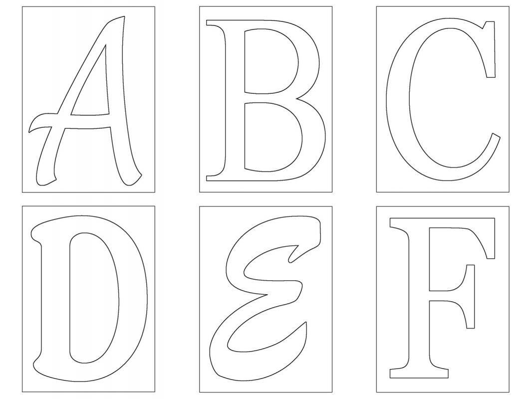 letters template free