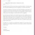 letters to landlord sample termination letter without cause employment contract termination letter