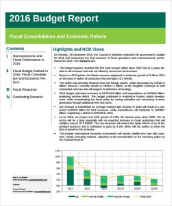 line graphs templates budget report template format