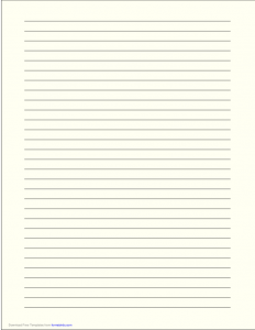 lined paper template pdf a size lined paper with wide black lines pale yellow l