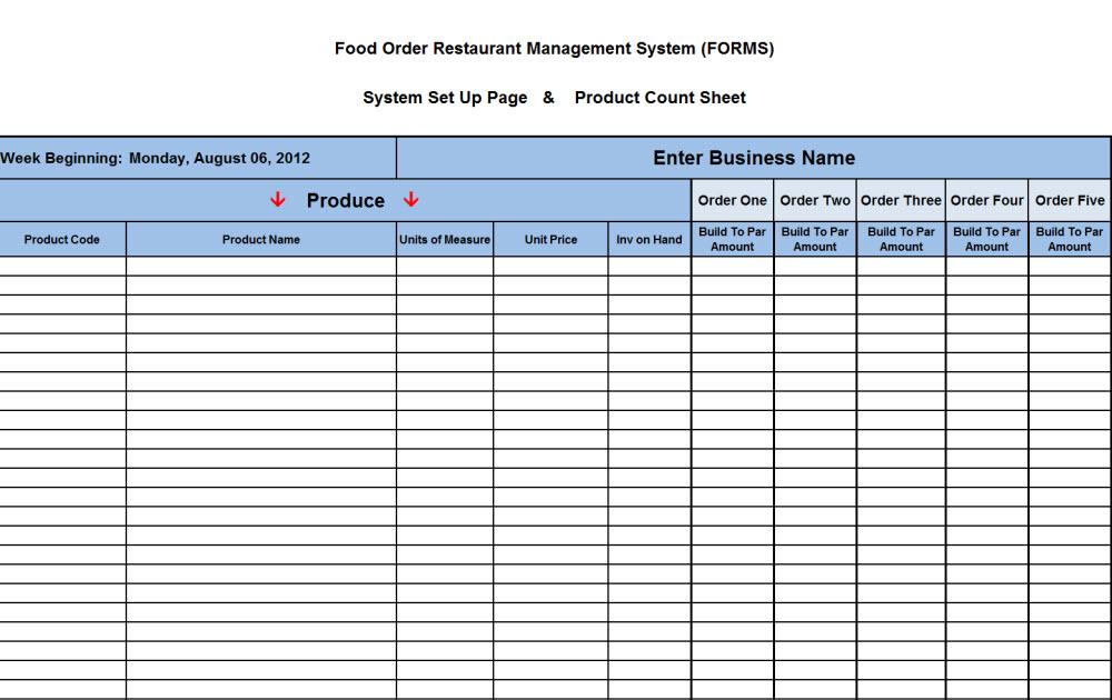 liquor inventory spreadsheet