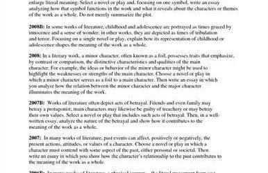 literary essay example response to literature essay example