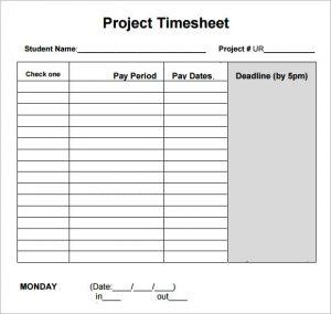 log sheet templates daily project timesheet