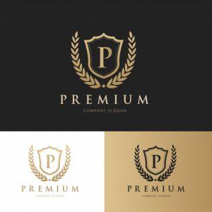 logo template psd premium logo collection