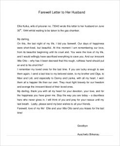 love letter to my future wife farewell love letter to husband