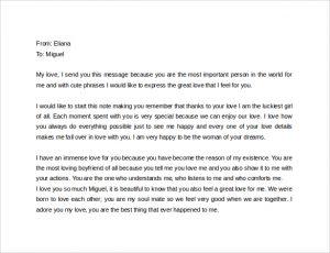 love letter to my gf cute love letter to boyfriend