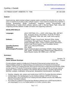 ma resume templates cynthia everettresumepdf