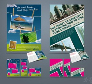 magazine ad template ad pack pb