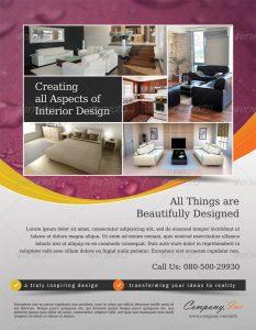 magazine ads template style