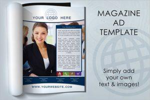 magazine ads template premium magazine ad template
