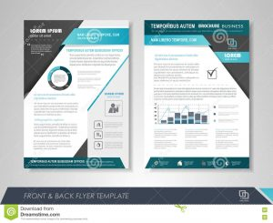 magazine advertisement template business poster template front back page brochure flyer design icons infographic elements