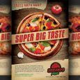 magazine advertisement templates pizza restaurant pizzeria advertising flyer template