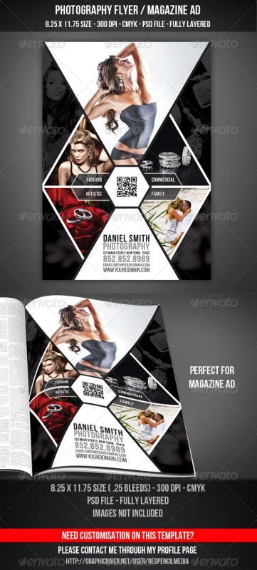 magazine advertisements templates