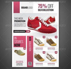 magazine advertisements templates product flyer magazine