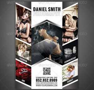 magazine advertising templates photography flyer magazine ad
