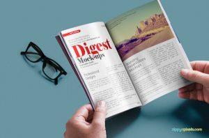 magazine cover template psd best free magazine mockups psd