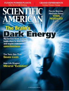 magazine covers designs the brains dark energy by scientific american magazine
