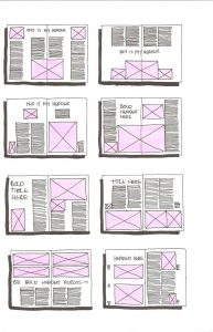 magazine layout template layoutexamples