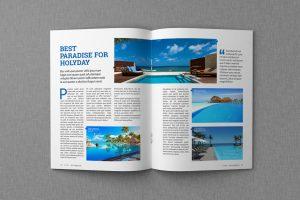 magazine layout template multypurpose magazine template