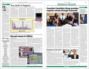 magazine template free fidelity newspaper design page