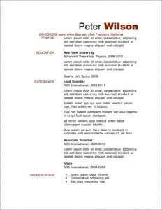 magazine template free free resume template