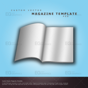 magazine template psd custom vector magazine template psd