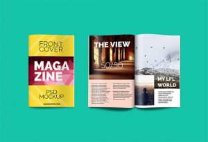 magazine template psd free magazine psd mockup for you