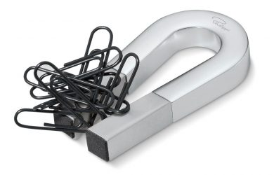 magnetic paperclip holder overlay