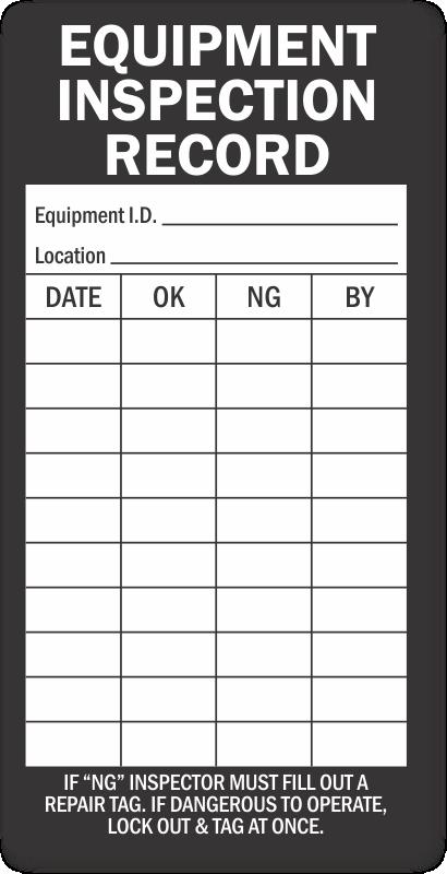 maintenance log template