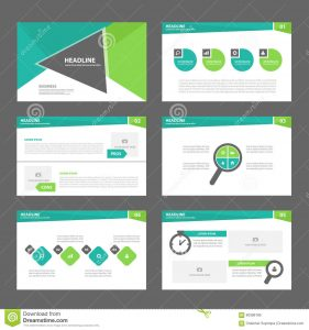 marketing flyer templates green presentation template annual report brochure flyer elements icon flat design set advertising marketing leaflet