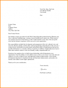 marketing manager cover letter job application simple cover letter