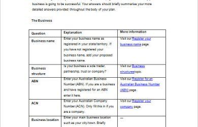 marketing plan template free simple marketing plan template word