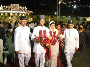 marriage ceremony words after wedding
