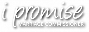 marriage ceremony words i promise logo clear