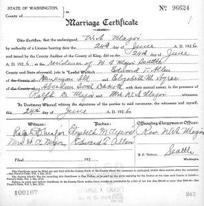 marriage certificate sample certificate
